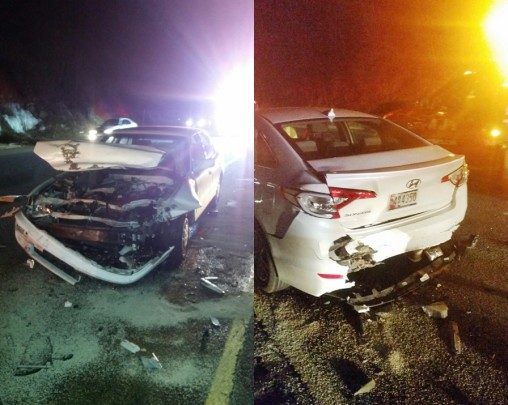 1/22/15 MVA Route 8 NB Exit 12-13