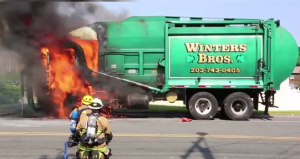Garbage Truck Fire 3
