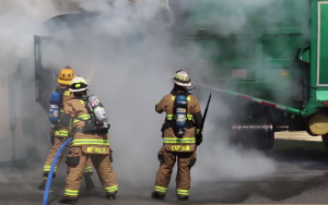 Garbage Truck Fire 4